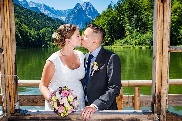 Fotograf Hochzeit Garmisch Partenkirchen Grainau Zugspitze Eibsee